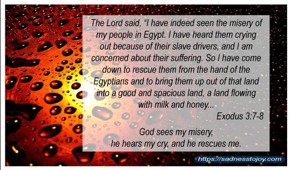 God Speaks Through His Word | Sadness to Joy